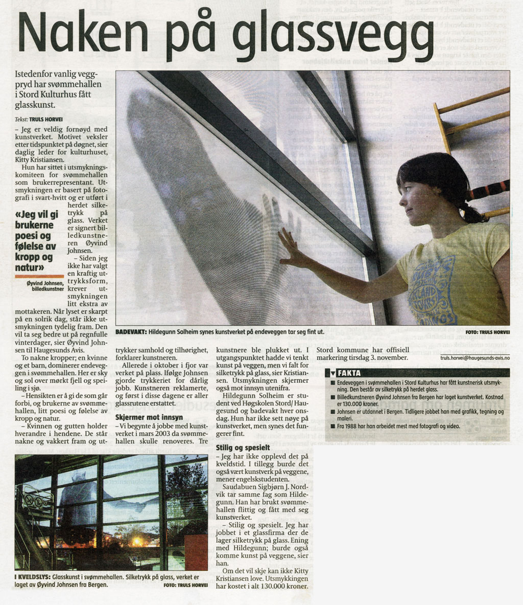 000ny 2004-newspaper-article-Haugesunds-Avis-1