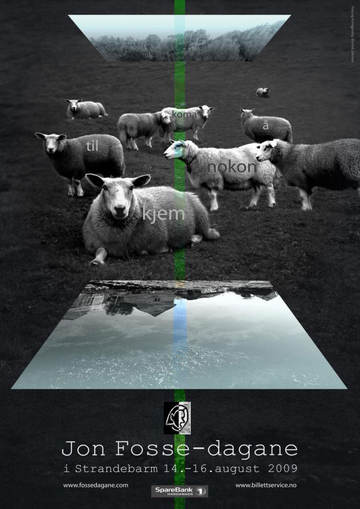 000ny 2009-poster-Jon-Fosse-dagane-724x1024