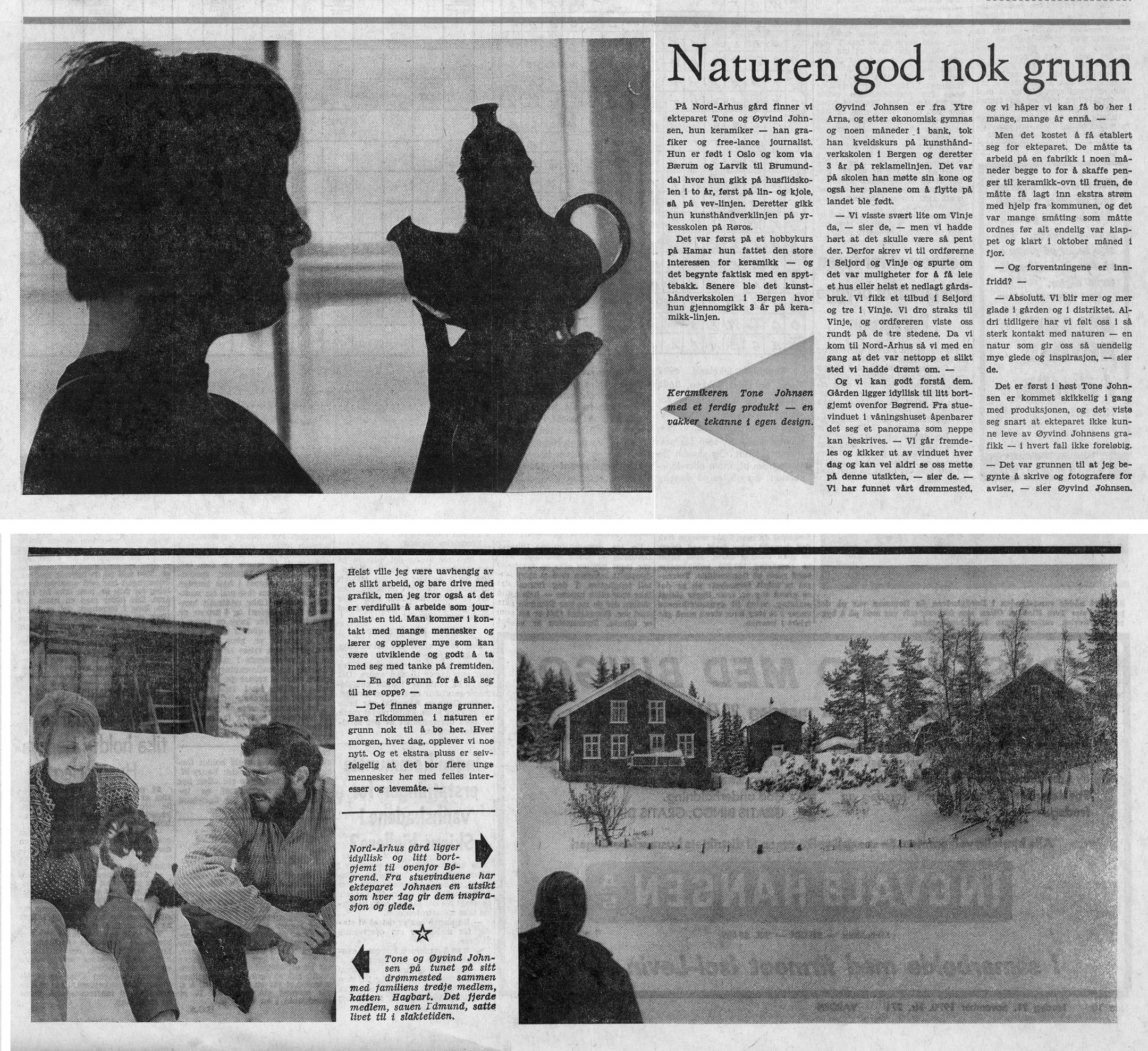 1970 newspaper article Varden