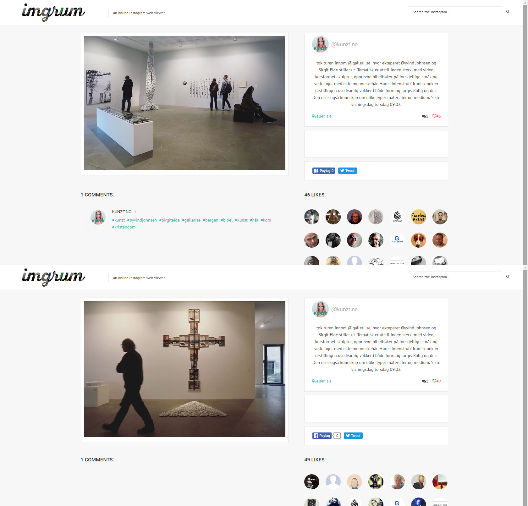 2017 blogg exhibition Bergen