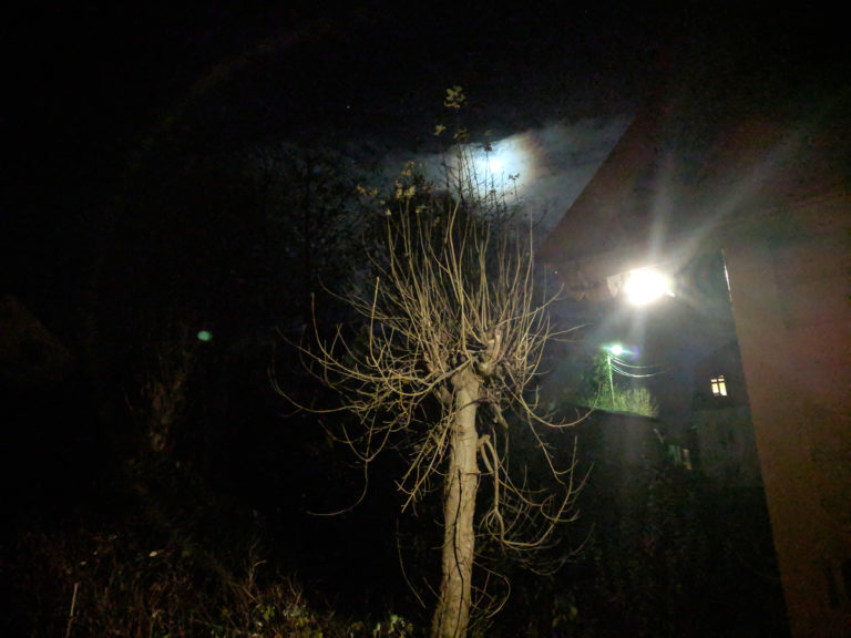 2018 photo October night